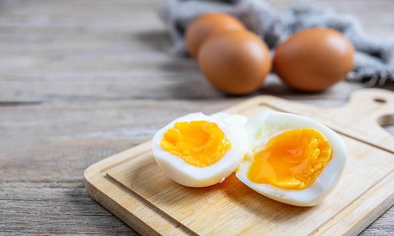 huevo al microondas