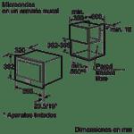 Comprar microondas bosch hmt85ml53 online